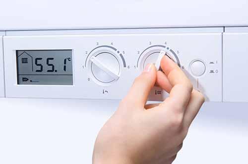 Gas boiler controls